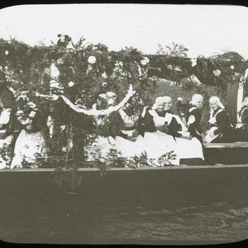 Volksfeest, Giethoorn, vermoedelijk circa 1900