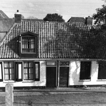 Arbeiders- of visserswoningen, Makkum, 1943