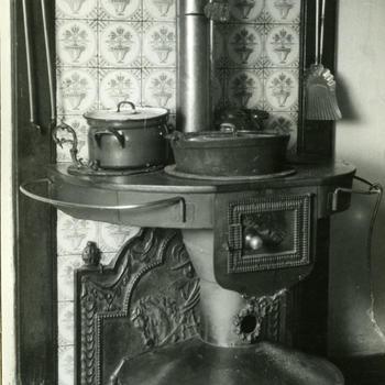Plattebuiskachel, Veessen, 1945