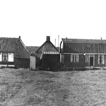 Arbeiders- en visserswoningen, Workum, 1943