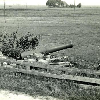 Kanon bij Blankenham, 1947