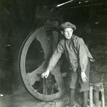 Touwslagerij in Soest, 1920