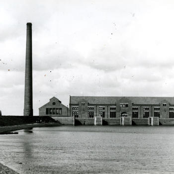 """Stoomgemaal """"Ir. D.F. Wouda"""" bij Lemmer, 1920–1934"""