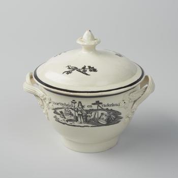 Suikerpot 'Voor Vryheid en Vaderland', 1751–1795