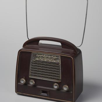 Draagbare radio van Philips, 1954–1955