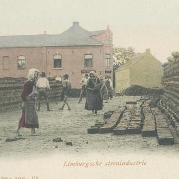 Steenfabriek, Limburg, 1886–1921