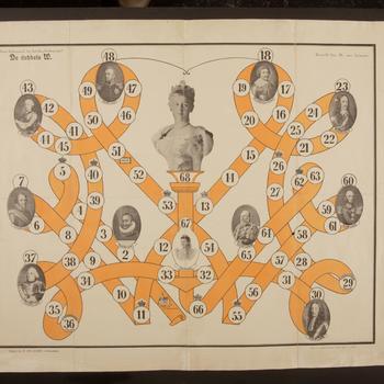 Bordspel 'De dubbele W', 1898–1899