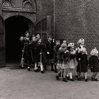 Palmpasen, Nieuw-Schoonebeek, 1946