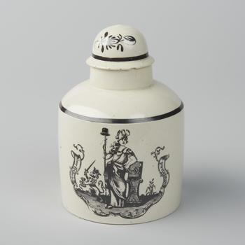 Theebusje 'Voor Vryheid en Vaderland', 1751–1795