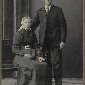 Echtpaar uit de omgeving van Gelselaar en Geesteren, 1890–1935