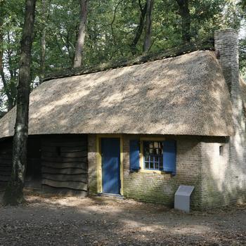Daglonershuisje uit Nunspeet, circa 1850