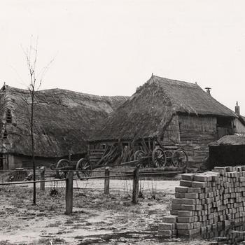 Boerderij, Staphorst, 1950