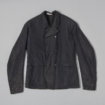Mannenjas van zwart merinos, Oldebroek, voor 1949