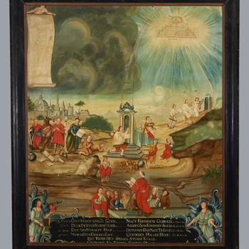De weg naar de hemelpoort, circa 1750
