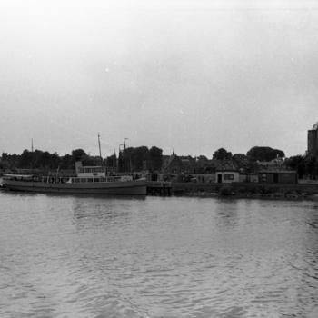 Gezicht op Enkhuizen, 1946