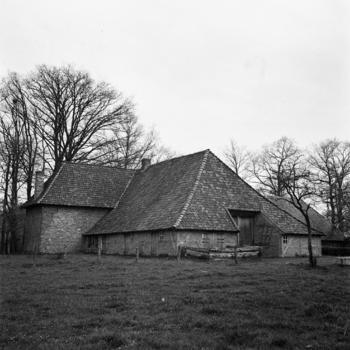 Boerderij, tolhuis en herberg 'De Lebbenbrugge', Borculo, 1943