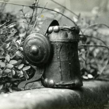 Zalfpotje van een schaapherder uit Schoonebeek, 1947