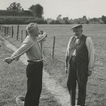 Touwslagerij Bloem, Berghem, 1947