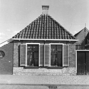 Arbeiders- of visserswoningen, Workum, 1943