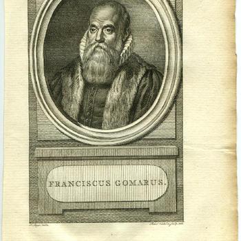 Portret van Franciscus Gomarus