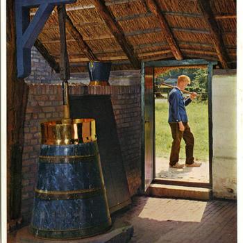 Karnhoek in de boerderij uit Kadoelen