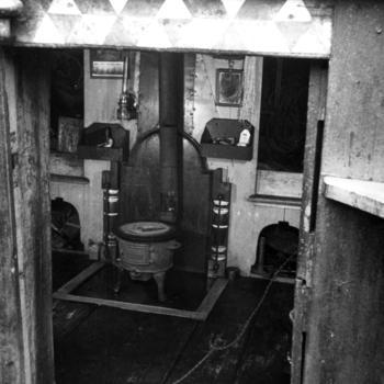 Vooronder van botter MK 63, Marken, 1943