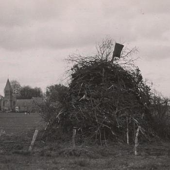 Takken voor het paasvuur, Nieuw-Schoonebeek, 1946
