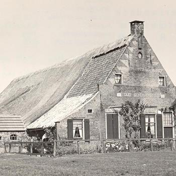Boerderij 'Oud Schuilenburg', Kadoelen, 1947