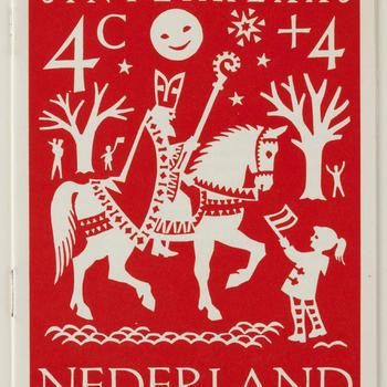 Boekje met uitleg in het Frans over kinderpostzegels, 1961