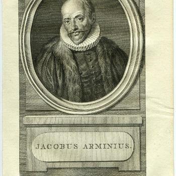 Portret van Jacobus Arminius