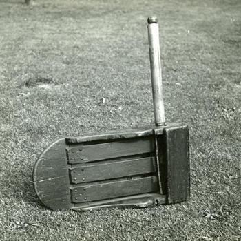 Ratel van de omroeper, Laren, 1952
