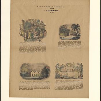 Zalsmans prenten, door E.J. Veenendaal - No. 55