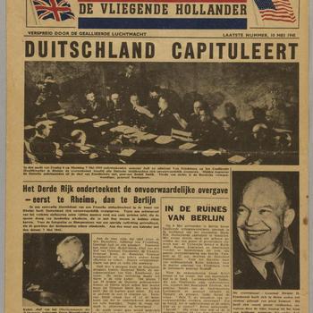 De Vliegende Hollander, 10 mei 1945