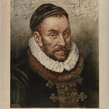 Portret van Willem van Oranje, 1933