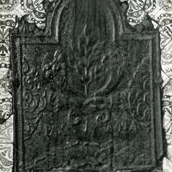 Haardplaat, Assendelft, 1947