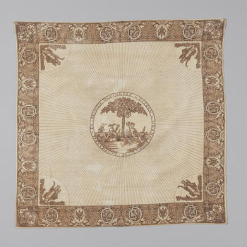 Herdenkingsdoek, 1780–1795