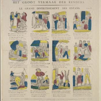 Het Groot Vermaak Der Kinderen / Le Grand Divertissement Des Enfans. - n.27 B.