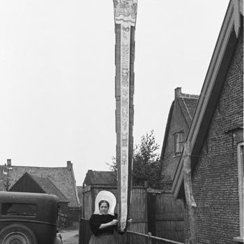 Wimpel van een botter, Huizen, 1945