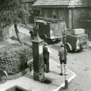 Aalten, 1945, vluchtende Duitsers