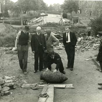 Aalten, 1945, oorlogssouvenir bij Richterinkbrug