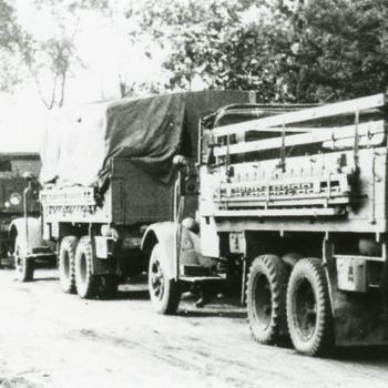 Bredevoort, 1940, Duitse militaire voertuigen