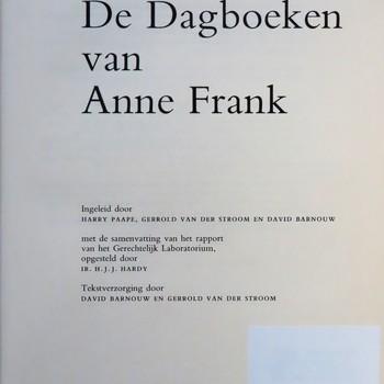 Dagboeken van Anne Frank