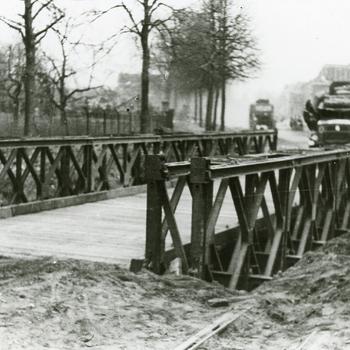 Aalten, 1945, Bailly-brug in de Dijkstraat