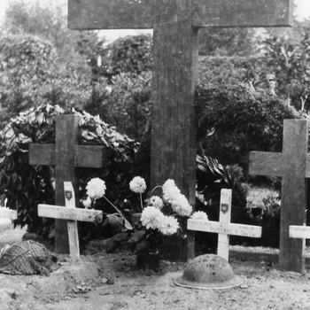 Aalten, 1945, de graven van Engelse militairen