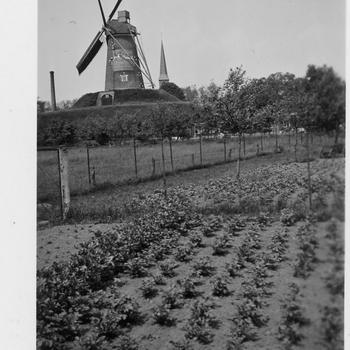 Bredevoort, 1940, uitkijkpost op de molen