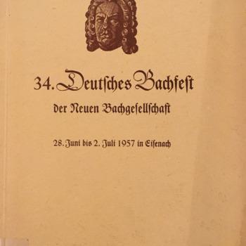 34 Deutsches Bachfest