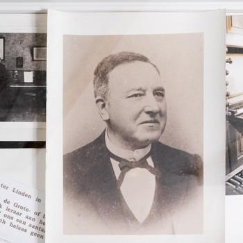 Organist G.A.J. ter Linden (3 foto's)