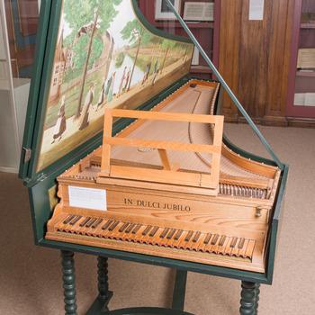 Klavecimbel, eenklaviers Italiaans klavecimbel