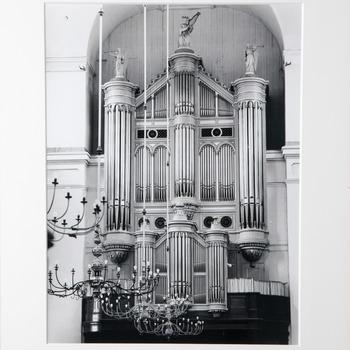 Foto voorstellende het Witte-orgel (1852/53) in de Grote Kerk te Gorinchem