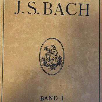 J.S. Bach  band 1.
